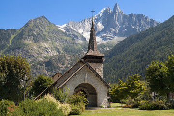 Chapel of Les Praz and the Drus