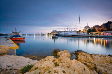 Boats in Zea marina, Piraeus, Athens.