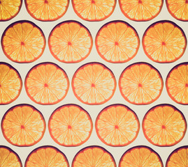 Retro look Orange background