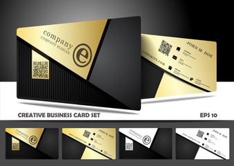 Creative and modern business card design