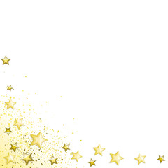 Starry White Background