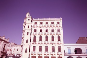 Havana. Cross processed color tone.