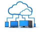 Internet cloud, concept