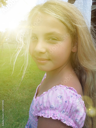 canvas print picture Potrait of a girl