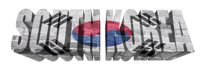 South Korea Word