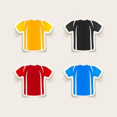 realistic design element: shirt