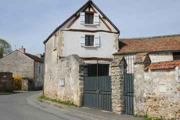 France, the picturesque village of Fremainille