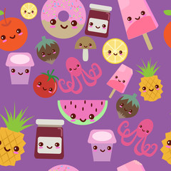Kawaii pattern
