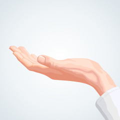 Keeping hand