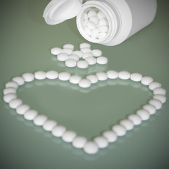 Aspirin for heart