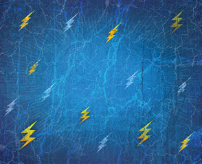 Theme background and texture. Flash. Lightning. Voltage.