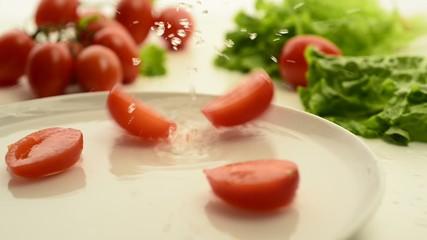 Preparazione dei pomodorini