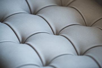 Background leather upholstery