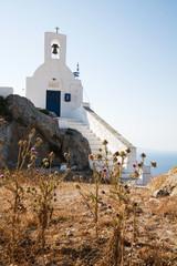 Griechisch-orthodoxe Kirche auf Serifos in Griechenland