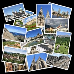 Austria - travel photo collage