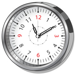 Vector illustration of the office clock