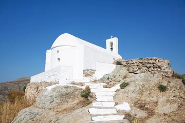 Kleine Kirche auf der Insel Serifos auf den Kykladen
