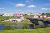 Panoramic view in Grodno, Belarus