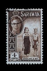 Briefmarke_Sarawak