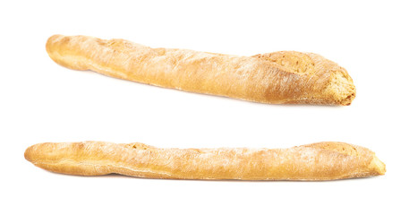 Baguette bread isolated