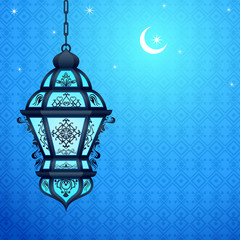 Eid ka chand Mubarak (Wish you a Happy Eid Moon ) background