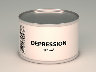 bank with depression title