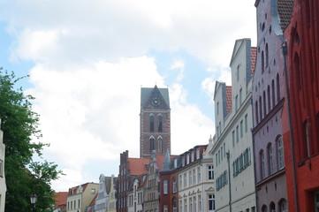 Fassaden  in Wismar