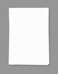 Empty blank template