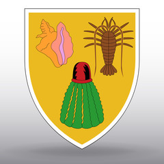 Coat of arms of Turks and Caicos Islands