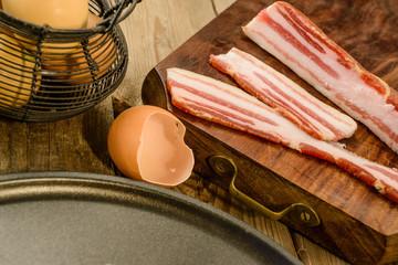 Pancetta e uova