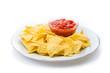 Tortilla Chips mit Salsa