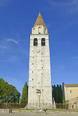 Bell tower of Aquileia, Italy, UNESCO