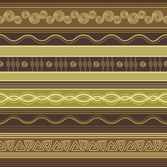 Ethnic ornamental colorful pattern