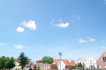 Fassaden am Markt in Wismar 6