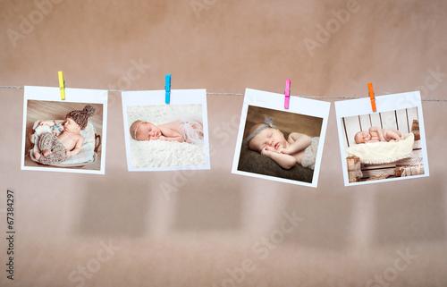 Leinwanddruck Bild newborn photos