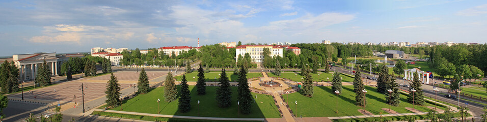 Panoramic view of Molodechno