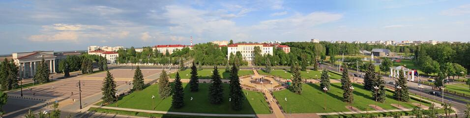Panoramic view of Molodechno