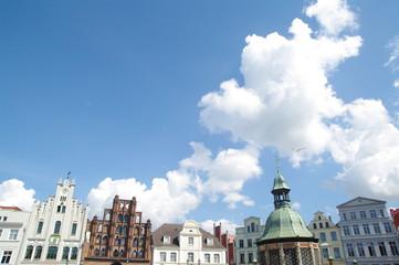 Fassaden am Markt in Wismar 4