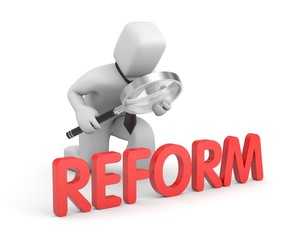 Businessman studies reform