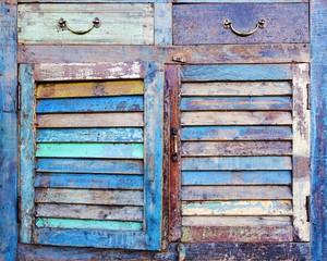 facade of an old dresser