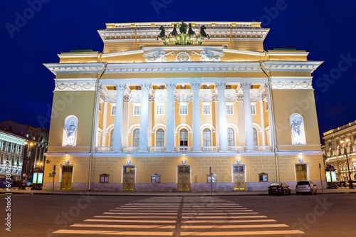 The academic drama theater of A.S. Pushkin Aleksandrinsky theate - 67386227