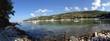 Obrazy na płótnie, fototapety, zdjęcia, fotoobrazy drukowane : aliki beach thassos panorama