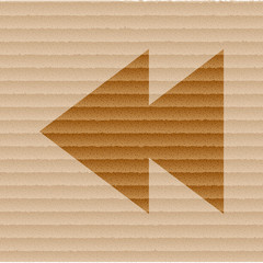multimedia control icon flat design with abstract background