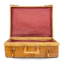 valigia di vimini