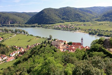 Durnstein village - Wachau Valley