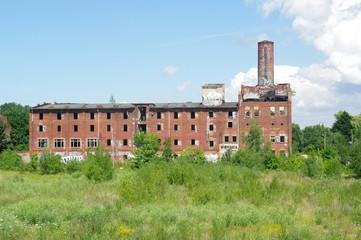Alte verfallene Fabrik in Wismar 4