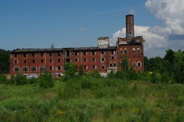 Alte verfallene Fabrik in Wismar 1