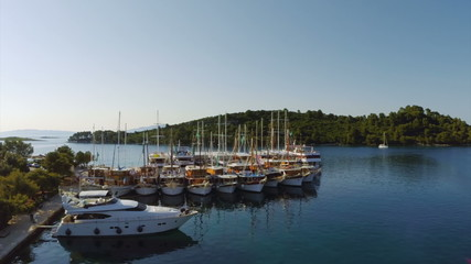 Pomena in National Park Mljet, Croatia
