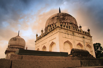 Historic Qutb Shahi tombs