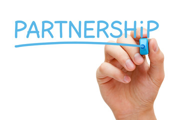 Partnership Blue Marker